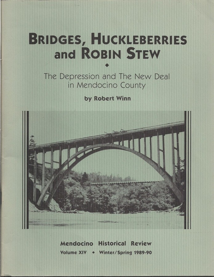 Booklet describing the effect of the Depression and New Deal on Mendocino County