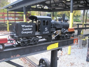 Right side view of 7 1/2 inch Gauge Climax