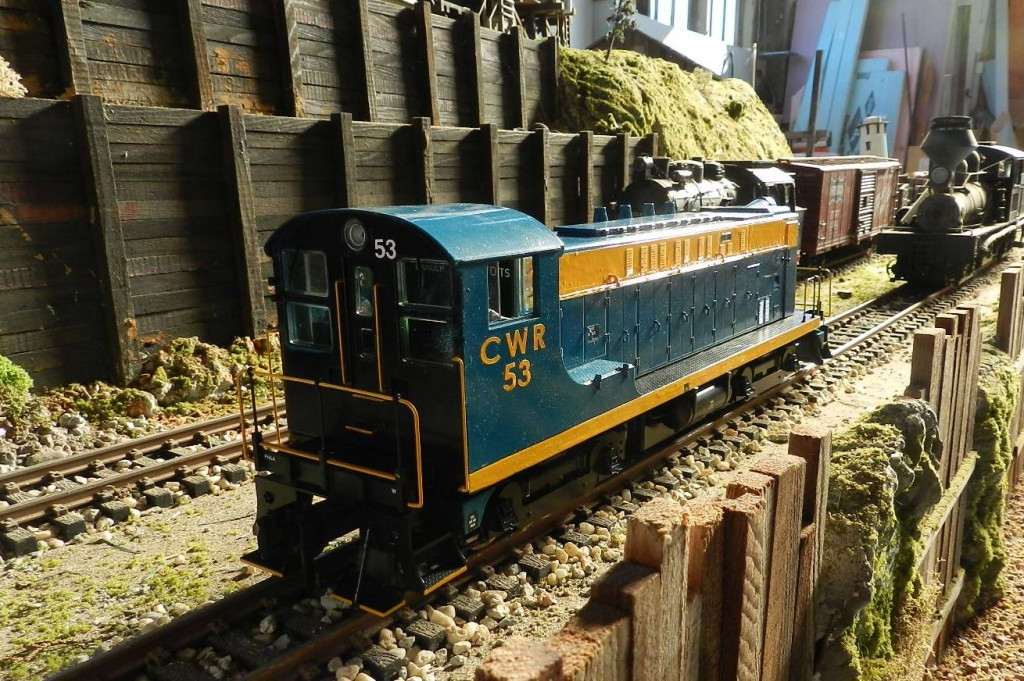 CWR Diesel #53 ready to roll