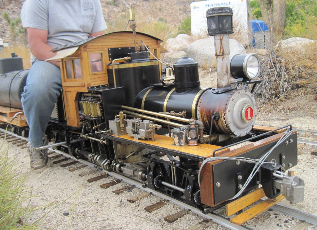 Joshua Tree & Southern 7 ½ inch Railroad Shay