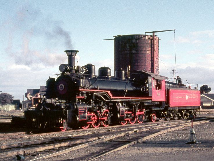 September 1970, CWR 2-6-6-2 #46 waiting at Fort Bragg