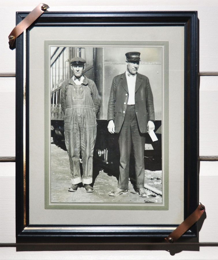 Fred Goranason - Engineer of the first Skunk (on the left)