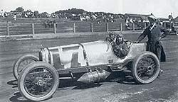 Racing Car at the Pine Grove Race Track