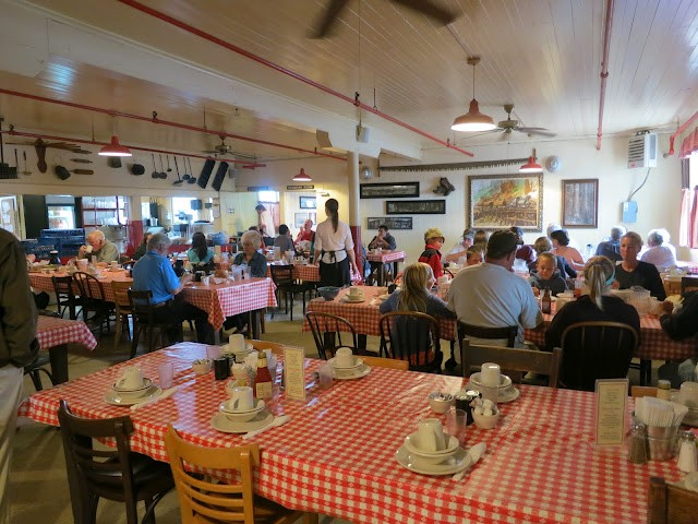 Dining Room at the Samoa Cookhouse