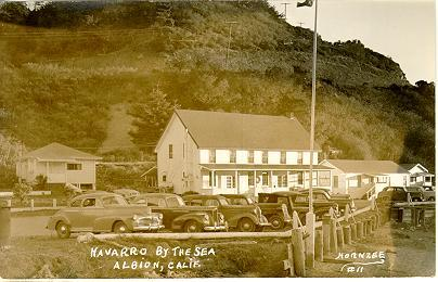 The Navarro Inn in relatively recent times