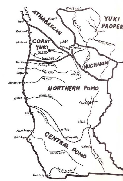 Image Result For Map Northern California Coast