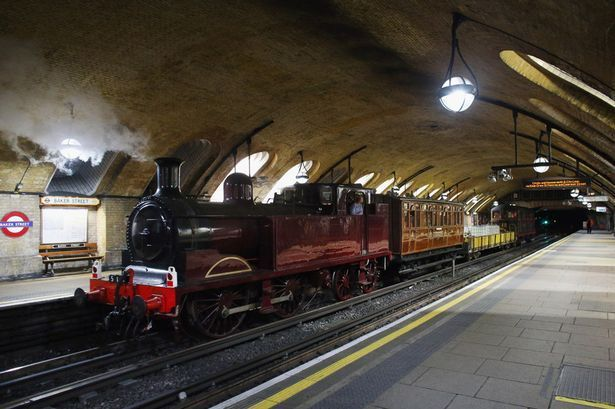 Baker Street Station in 2012 - not much change