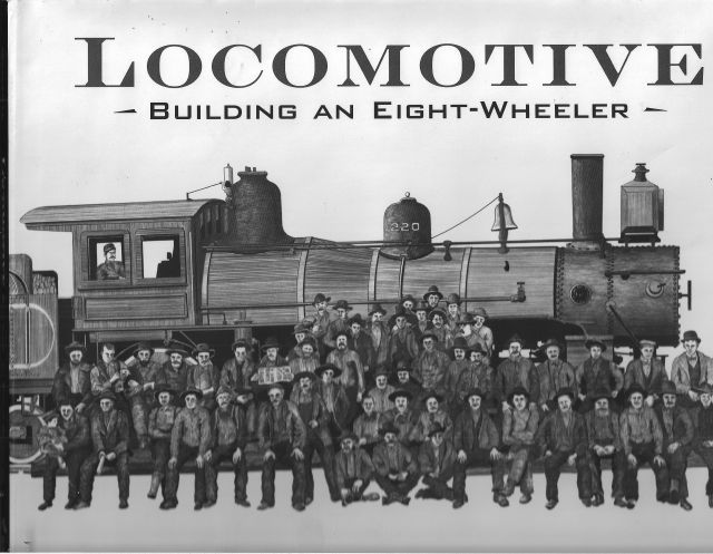 Book cover of Locomotives