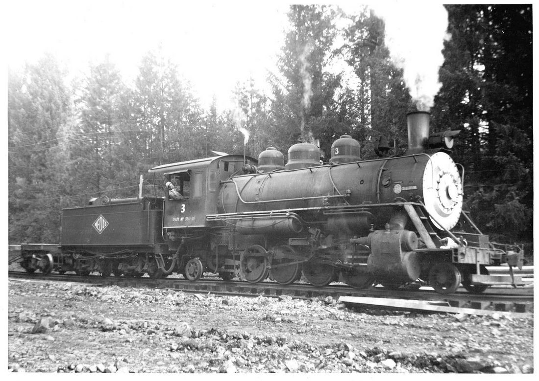 Medford lumber Company #3, now CWR #45
