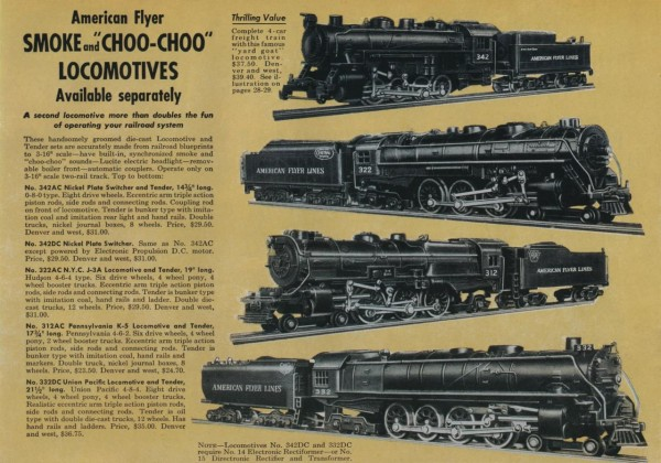 American Flyer Poster