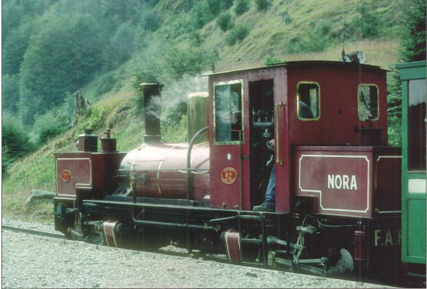 Beyer Garratt Nora belonging to the Train at the End of the World