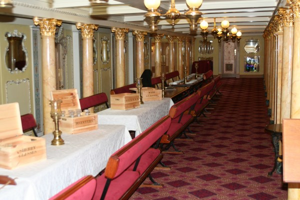 SS Great Britain First Class Dining Room
