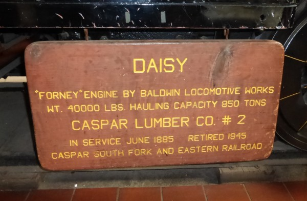 Sign on the side of Daisy