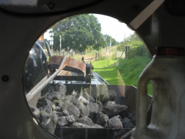 The View from the driver's cab