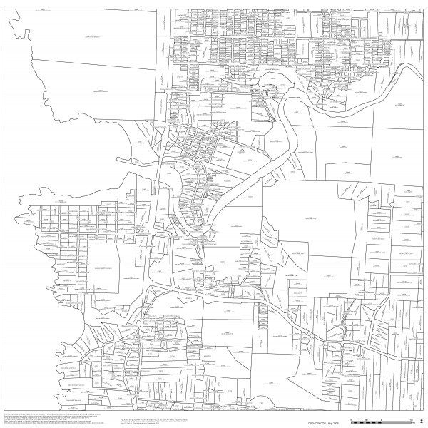 2007 Street Map of area around Noyo Basin