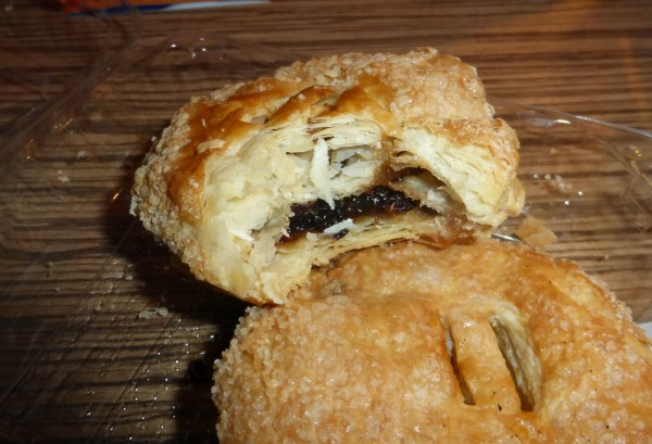 Dissected Eccles cake
