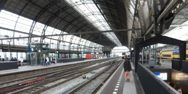 A cavernous Amsterdam Centraal