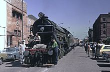 Flying Scotsman at San Francisco's Fisherman's Wharf in 1972
