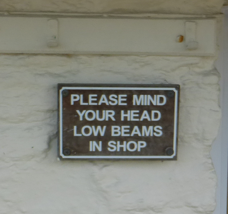 Sign outside Ice Cream Store