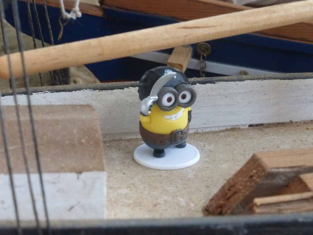 The pirate minion who, single handed, has captured on of the club's schooners