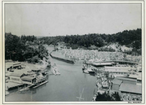 1970 Aerial View of Noyo Harbour