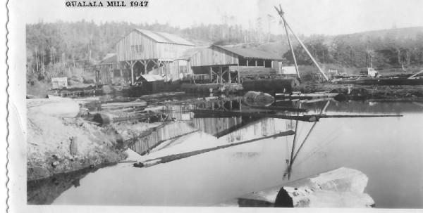 Gualala Mill in 1947