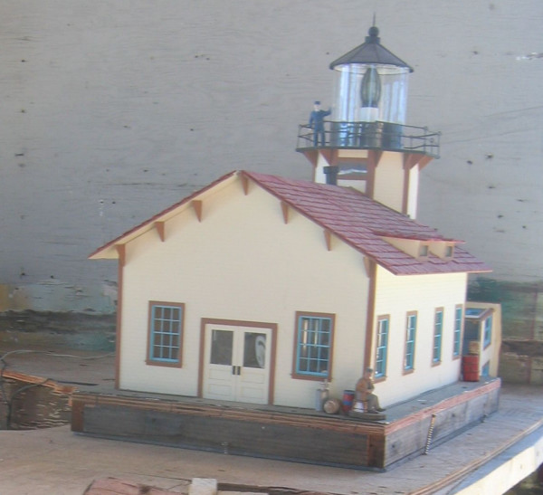 Point Cabrillo Lighthouse Model