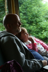 Son Seamus and granddaughter Ava