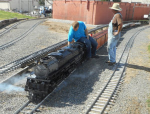 Big Boy - one of two seven and a half inch gauge Big Boys in existence