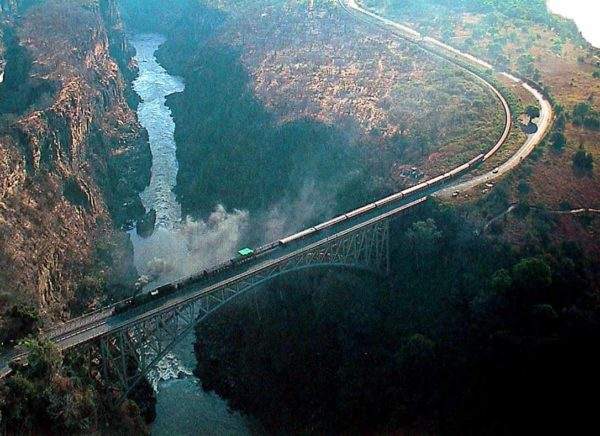 Victoria Falls Bridge and the Victoria Bridge