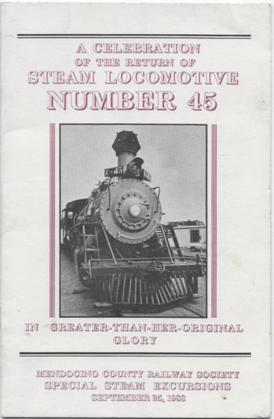 Front Cover of a Booklet on the Regeneration of CWR's #45 in 1988