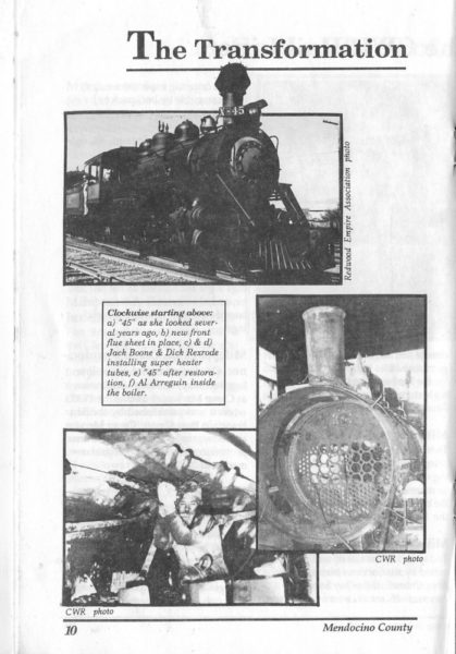 Pics of the Transformation of CWR's #45 in 1988 - Page 1