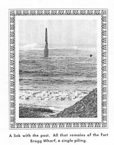 Last piling of the pier in 1960 - it no longer exists