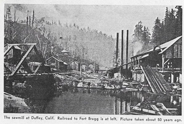 Duffey Mill in 1910