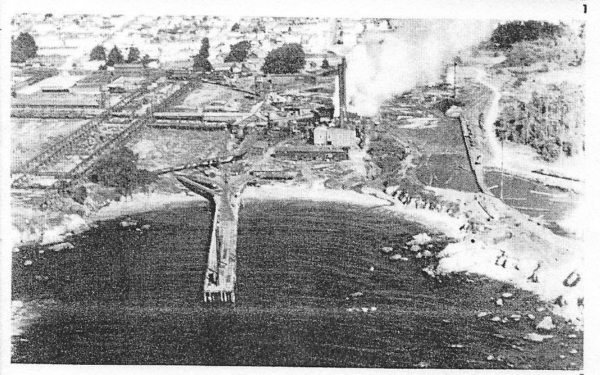 The pier from the air in the 1930's