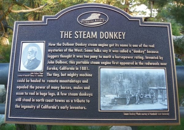 Steam Donkeys Plaque