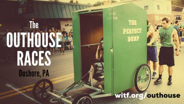 Outhouse Races at Dushore, PA