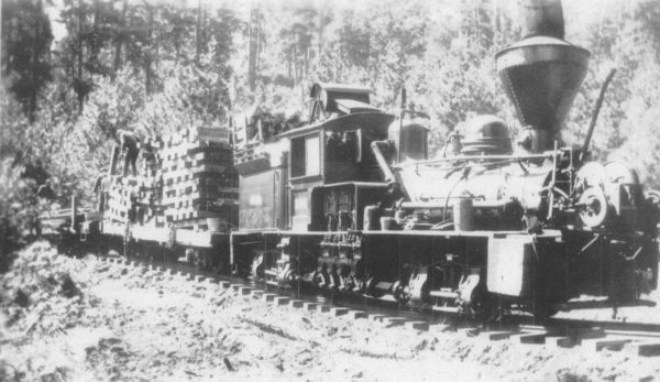 Laying Track in Oregon in 1907
