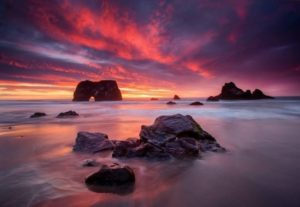 Sunset on the Mendocino Coast #5