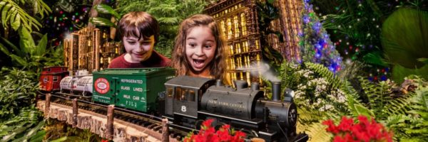 New York Botanical Gardens Holiday Train Show