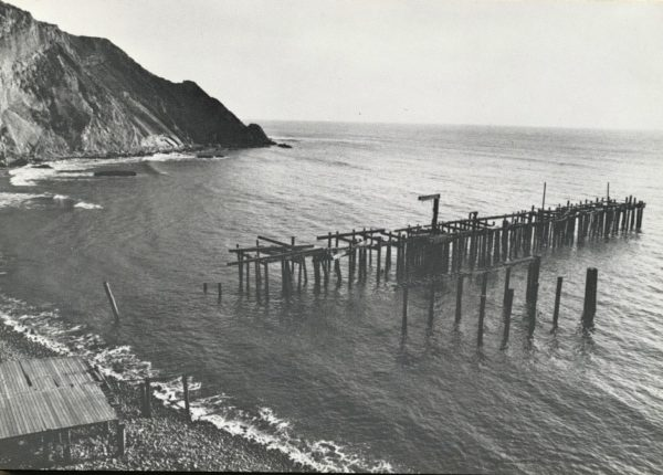 After the 1983 Storm at Point Arena