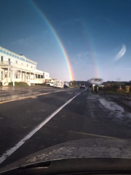 Rainbow at Mendocino