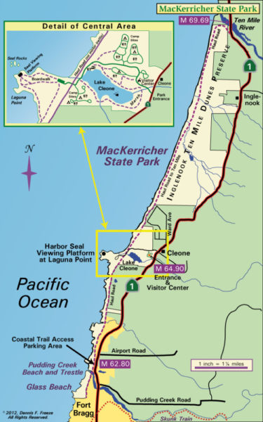 MacKerricher State Park Map