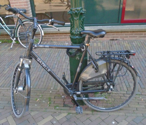 A bike with all mod cons