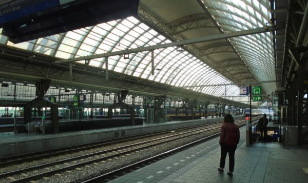 Look at the vastness of Amsterdam's Central Station