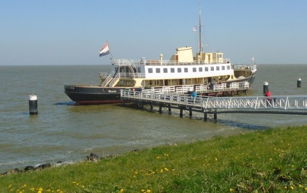 Our steamer - the Friesland - built in 1955 - she was originally a ferry