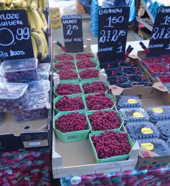 Red currents - first time I have seen these in donkeys years
