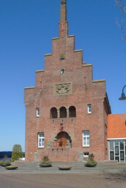The shape of this brick building is ts to be found all over Holland