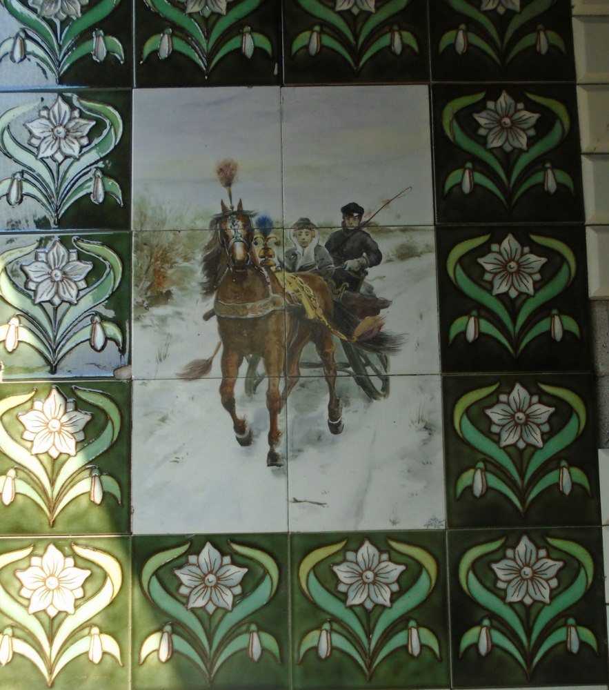 Tiles Found Outside A House In Haarlem