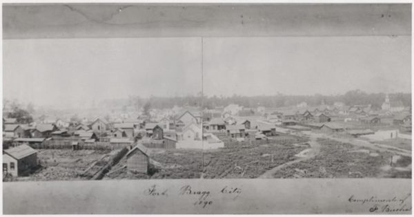 Fort Bragg in 1890